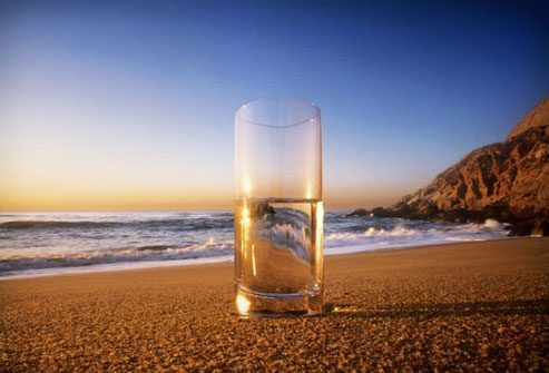 pohár félig teli